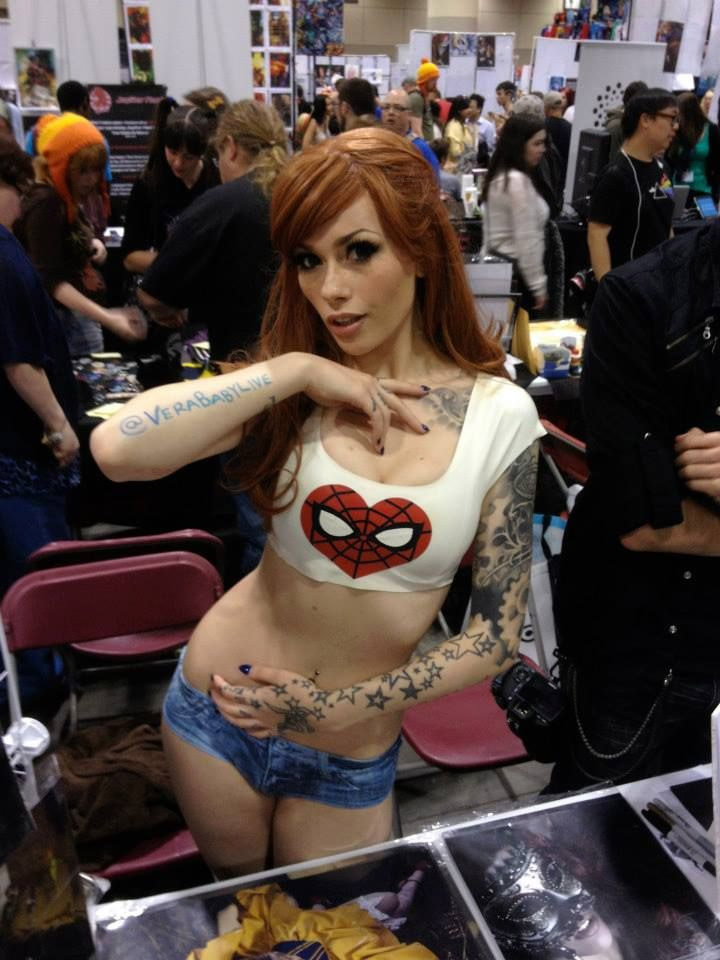 Cosplay sexy de Mary Jane