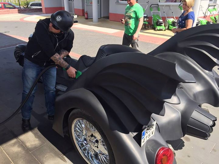 La moto de Batman IRL
