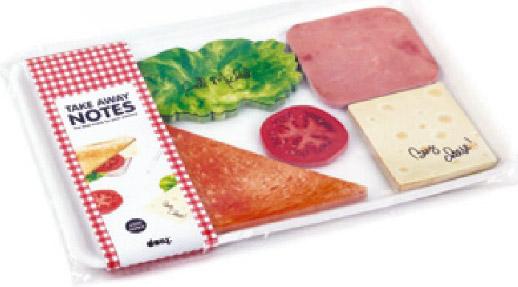 Bloc notes sandwich