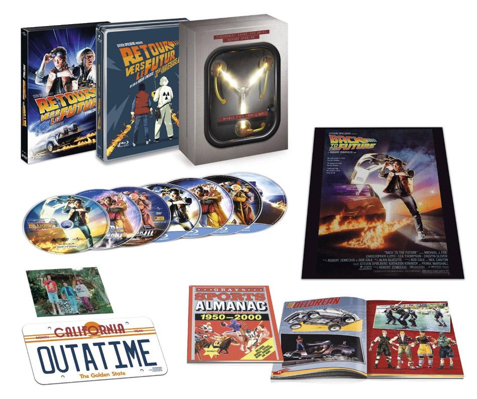 Collector Retour vers le futur Blu Ray