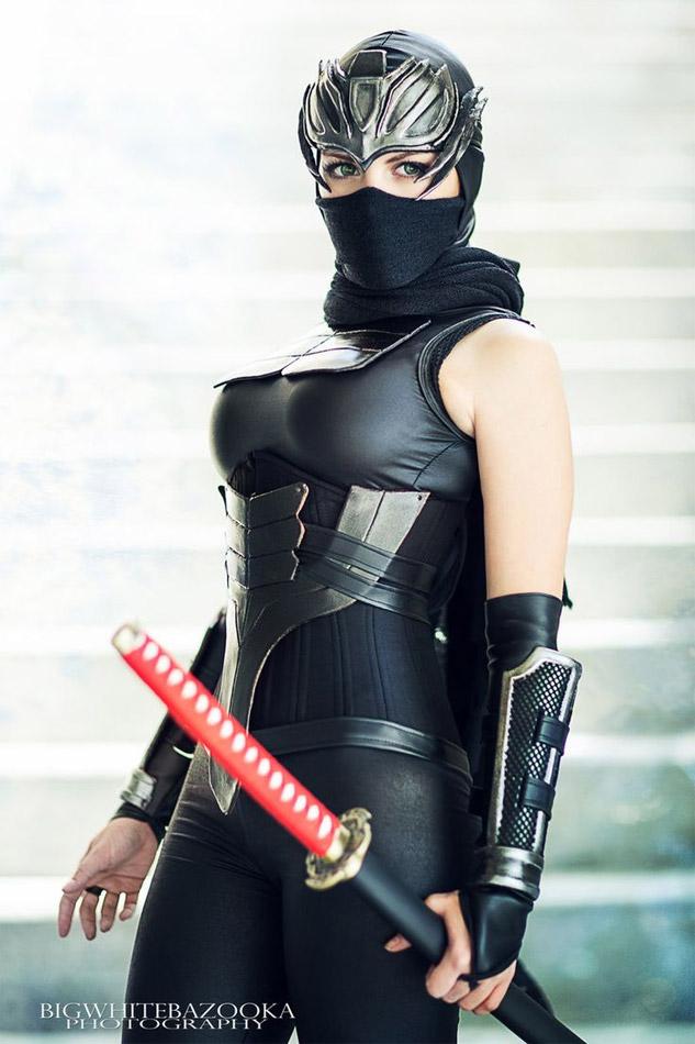 Cosplay sexy Ninja Gaiden
