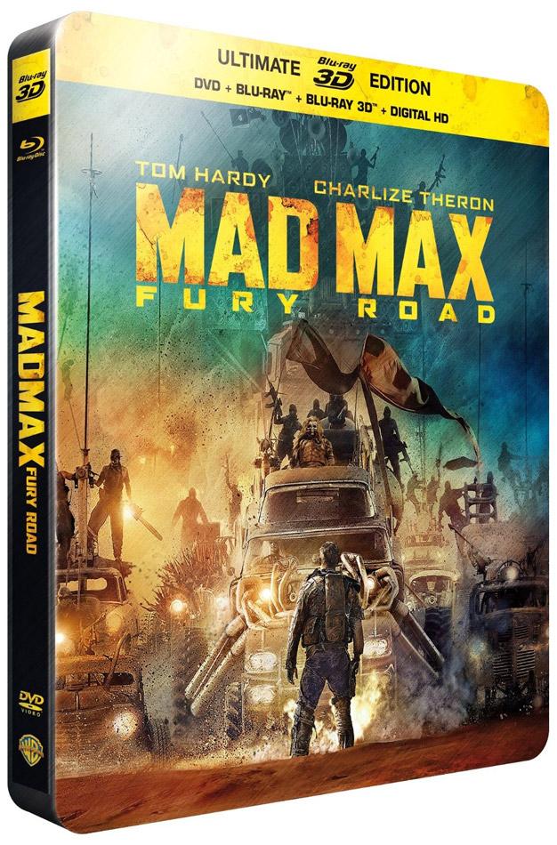 Steelbook Blu-ray 3D + Blu-ray + DVD