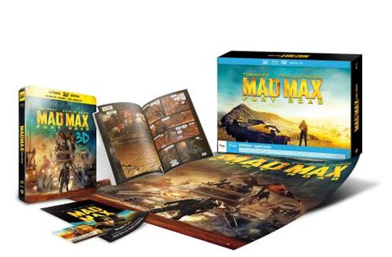 Collector Mad Max : Fury Road Blu Ray