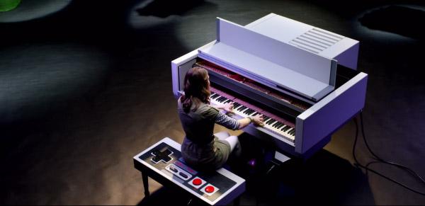 Piano Nintendo NES