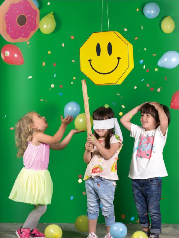 Piñata Donut et Smiley