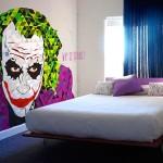 Sticker mural du Joker