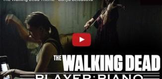 The Walking Dead au piano