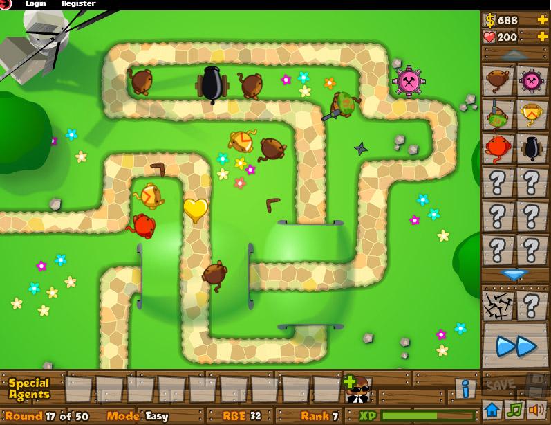 Bloons Tower Defense 2, un grand classique des jeu de bloons Tu aimes jouer à des jeux dans lesquels tu dégommes des cibles san... Tu aimes le jeu Bloons Tower Defense 5, tu aimeras aussi les jeux gratuits suivants.