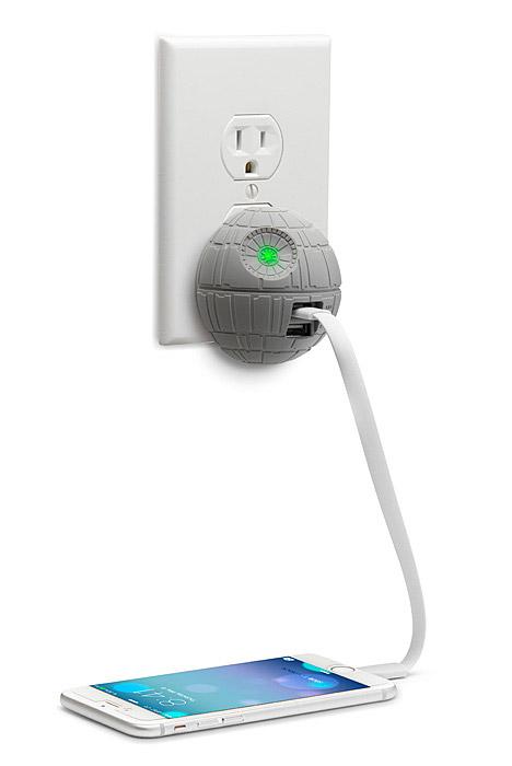 Chargeur USB Etoile Noire