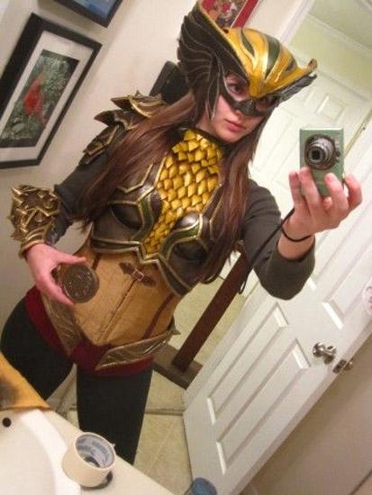 Cosplay sexy de Hawkgirl