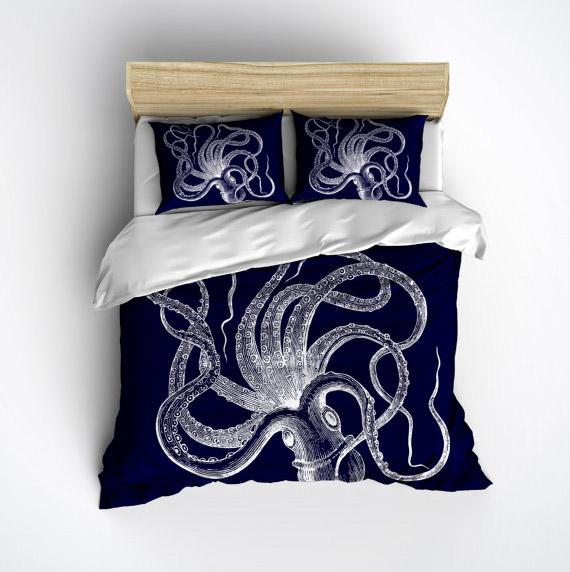 Parure de lit Kraken