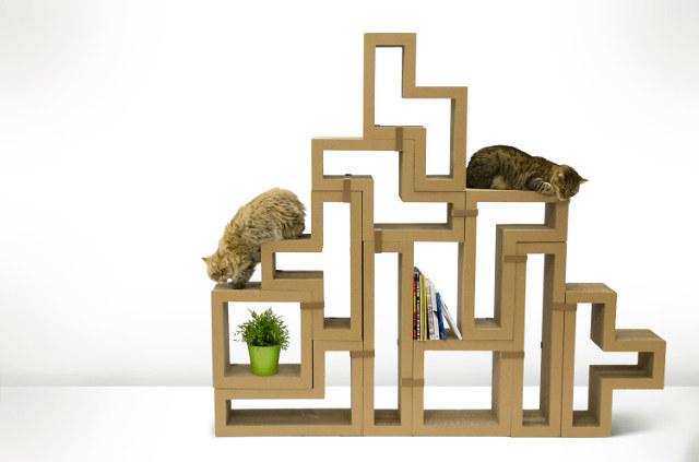 Griffoir pour chat Tetris