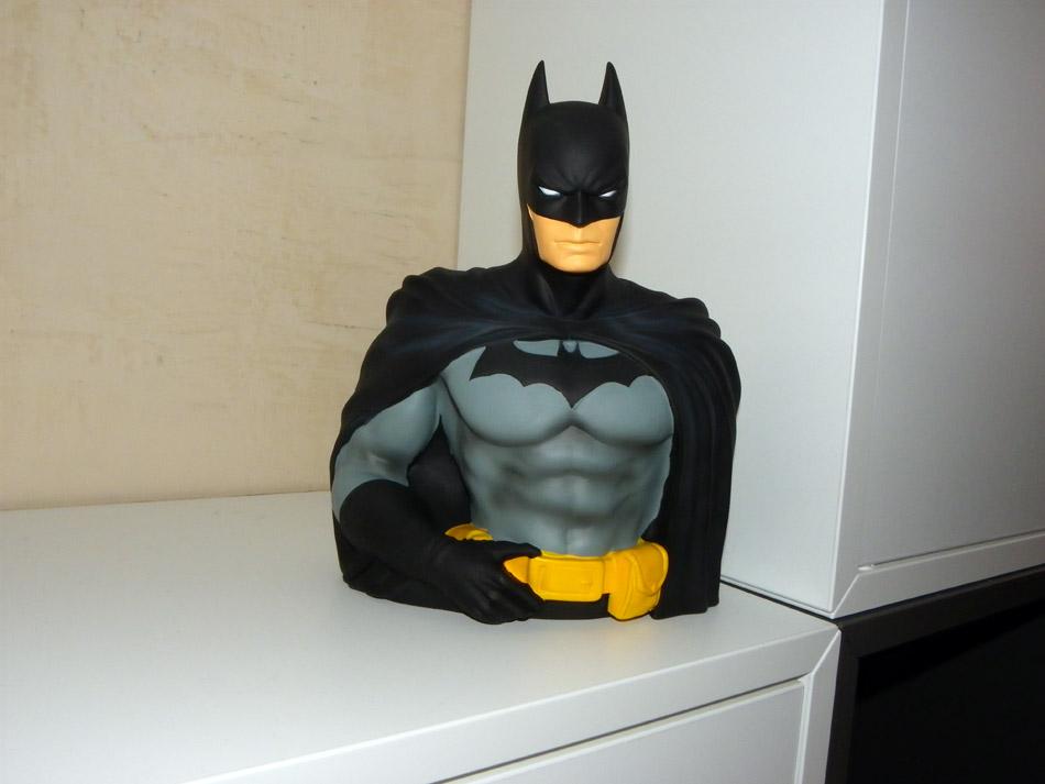J'ai craqué pour la tirelire buste Batman
