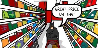 Quand Batman fait le Black Friday