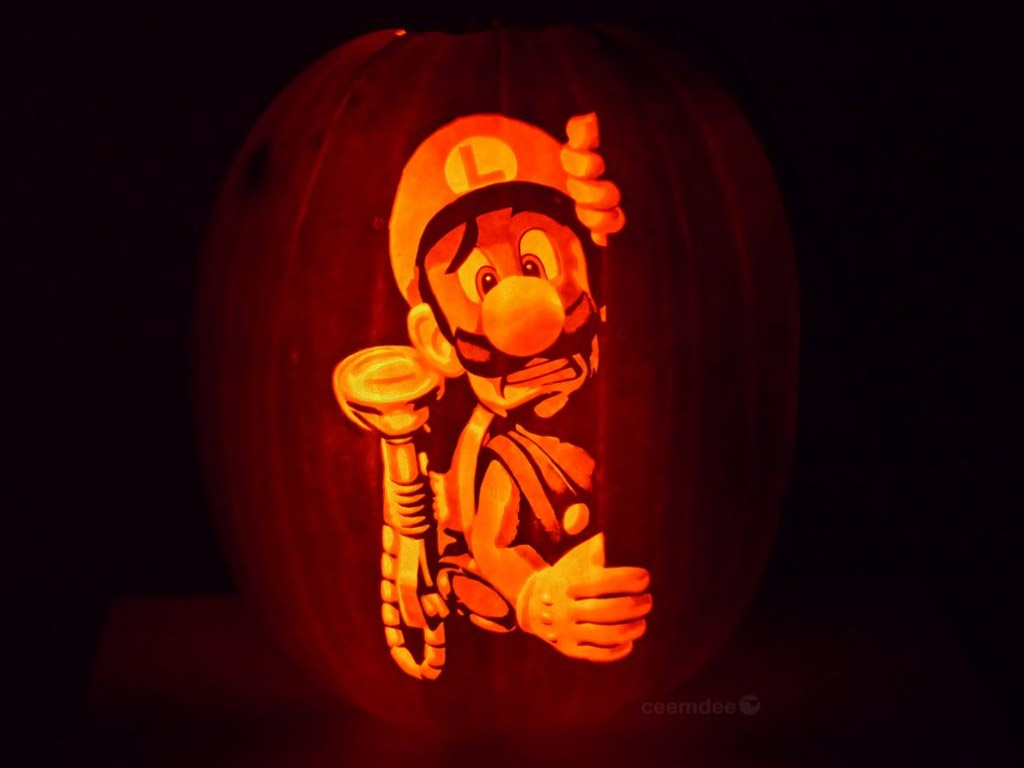 Citrouille Luigi's Mansion