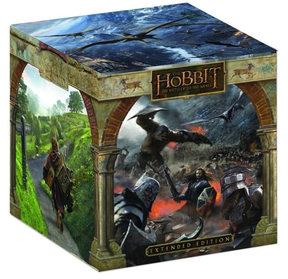 Collector Le Hobbit Blu Ray avec statue
