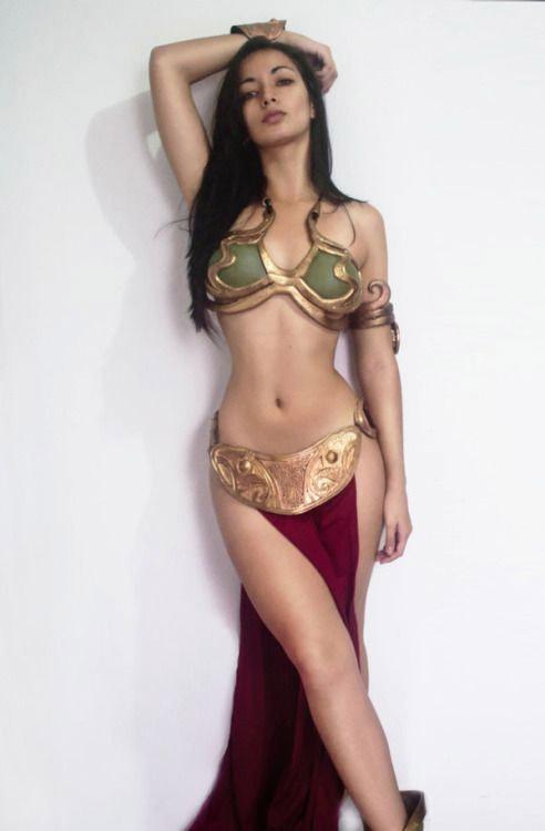 Cosplay sexy Star Wars