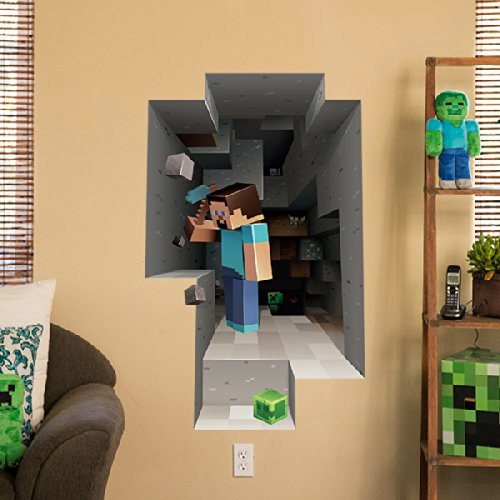 Sticker mural Minecraft