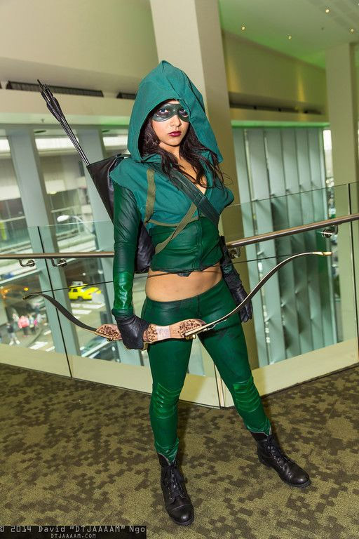Cosplay sexy Green Arrow