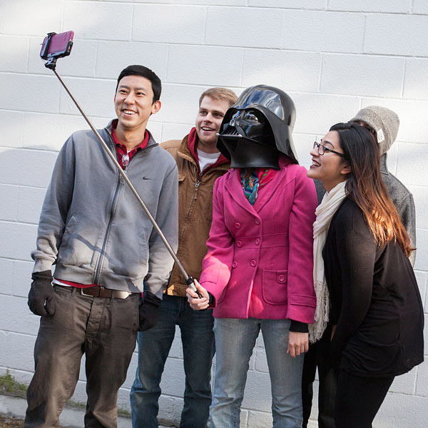 Perche à selfie Star Wars