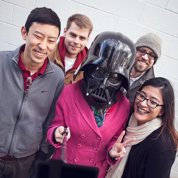 Perche à selfie Star Wars