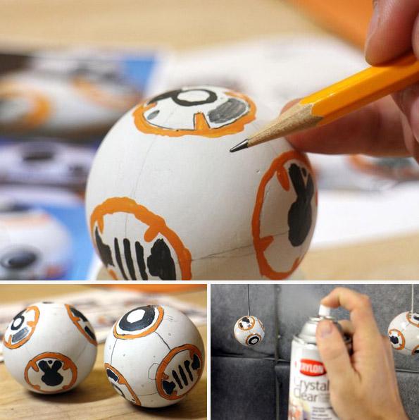 Tuto pour créer des chaussures à talons BB-8