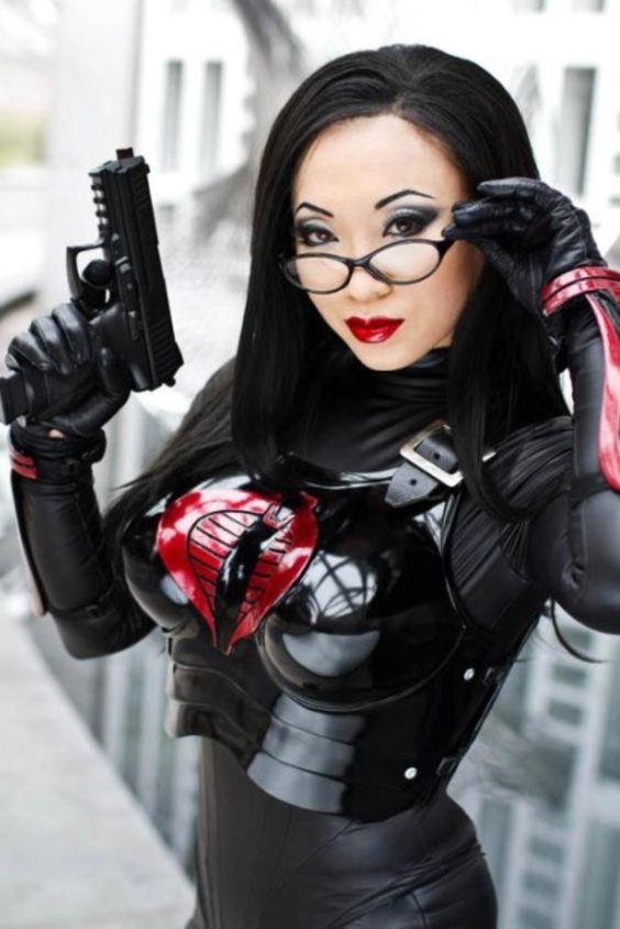 Cosplay sexy de la Baronne G.I. Joe