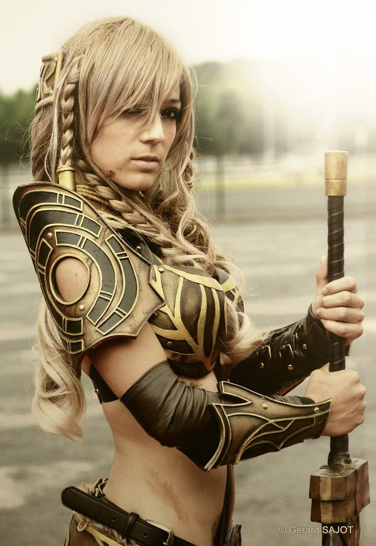 Cosplay sexy de Guild Wars 2
