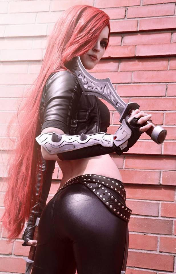 Cosplay sexy de Katarina