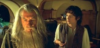 Gandalf et Frodon n'ont pas tourné une scène ensemble