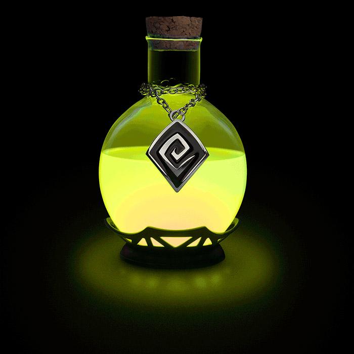 lampe de bureau potion magique le blog geek pour les. Black Bedroom Furniture Sets. Home Design Ideas