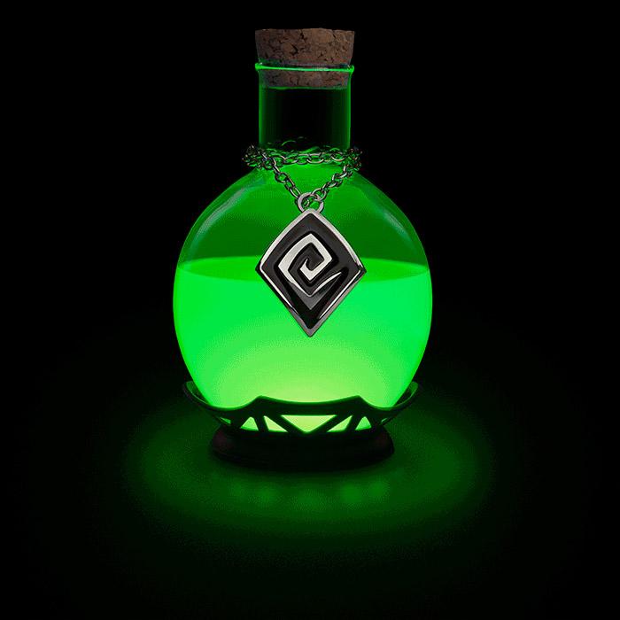 Lampe de bureau potion magique