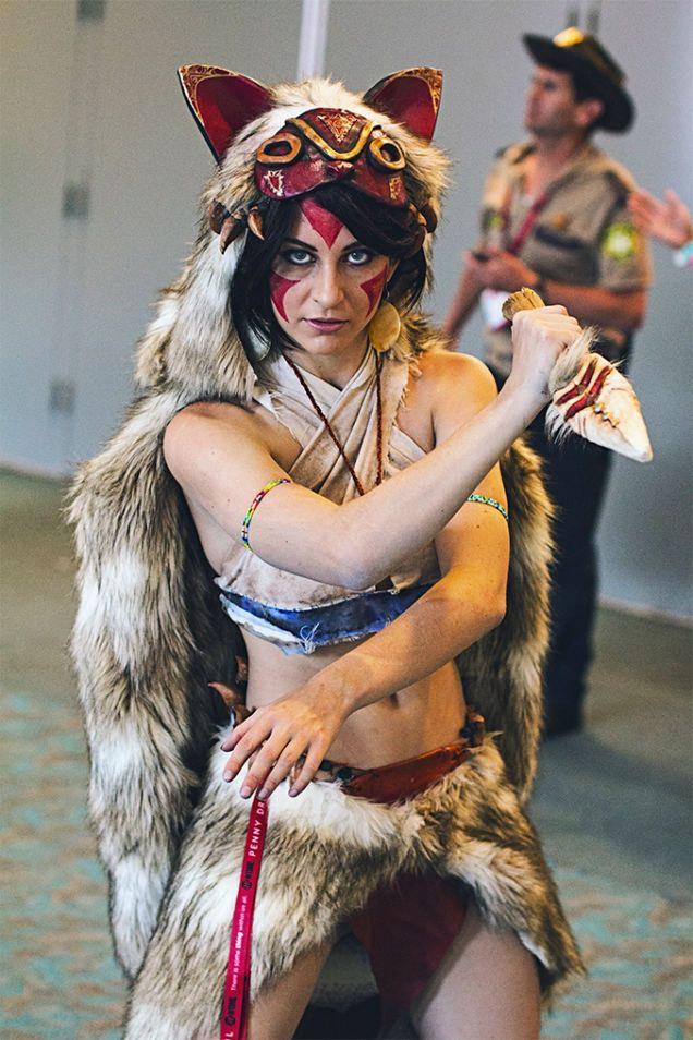 Cosplay de Princesse Mononoke