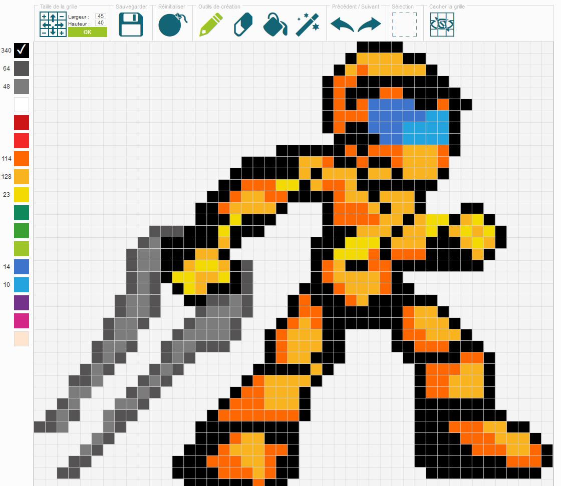 Générateur de déco en pixels
