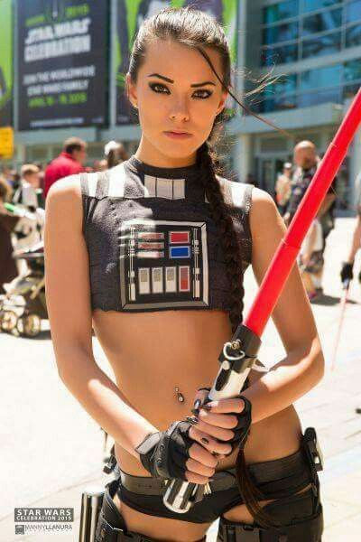 Cosplay sexy de Star Wars