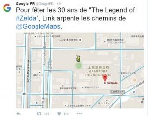 Google tweet