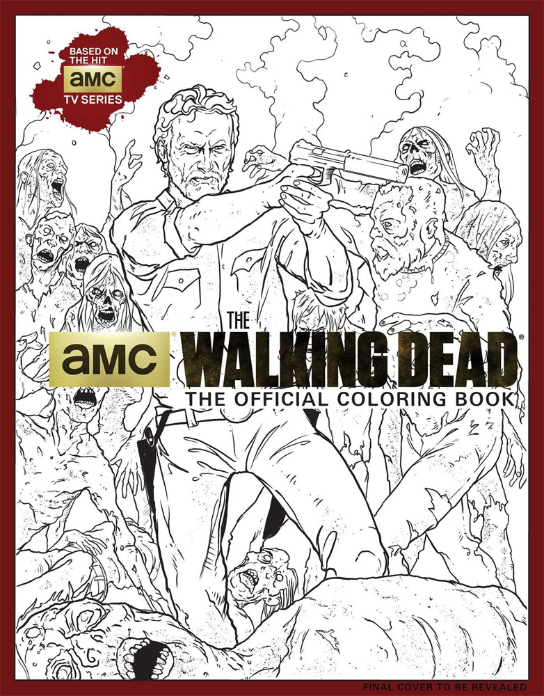 Coloriage Walking Dead