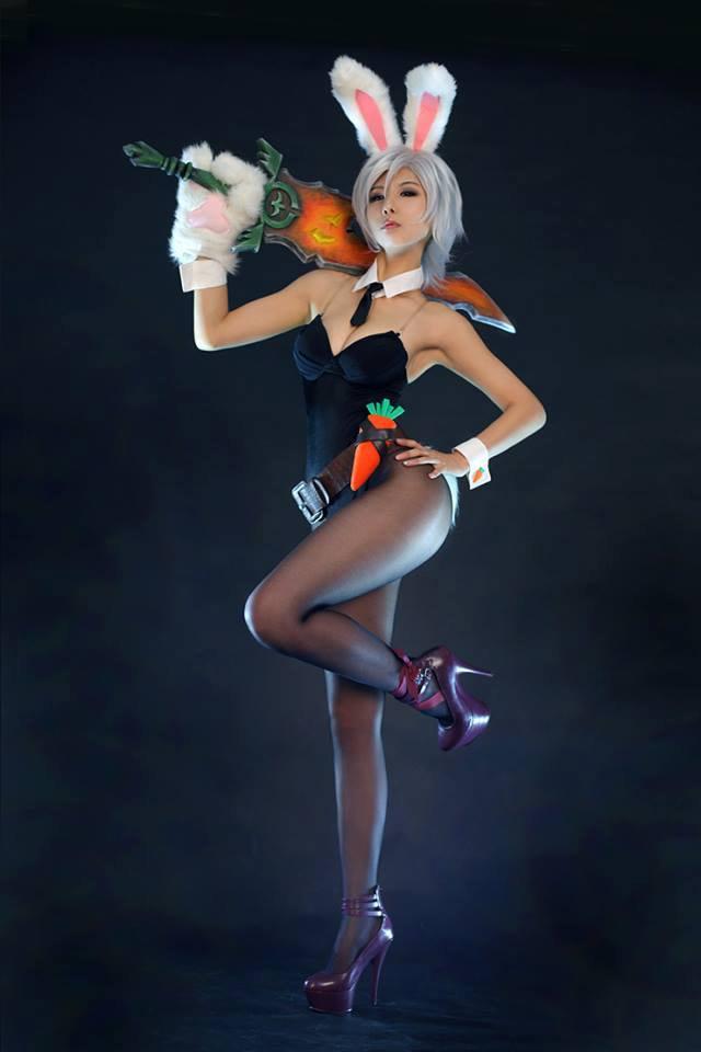 Cosplay Lapin de Pâques sexy
