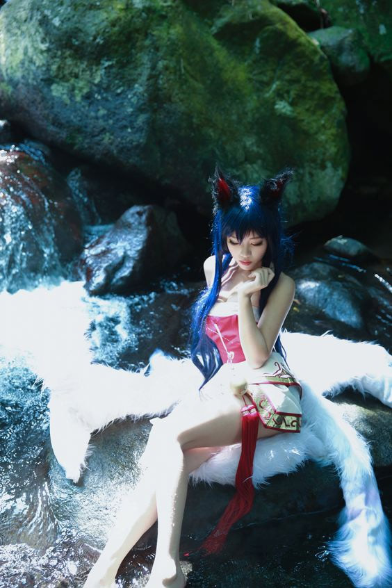Cosplay sexy AHRI League of Legends