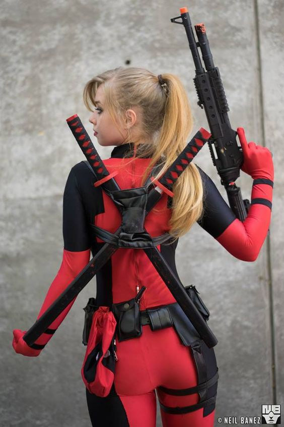 Cosplay DeadPool Sexy