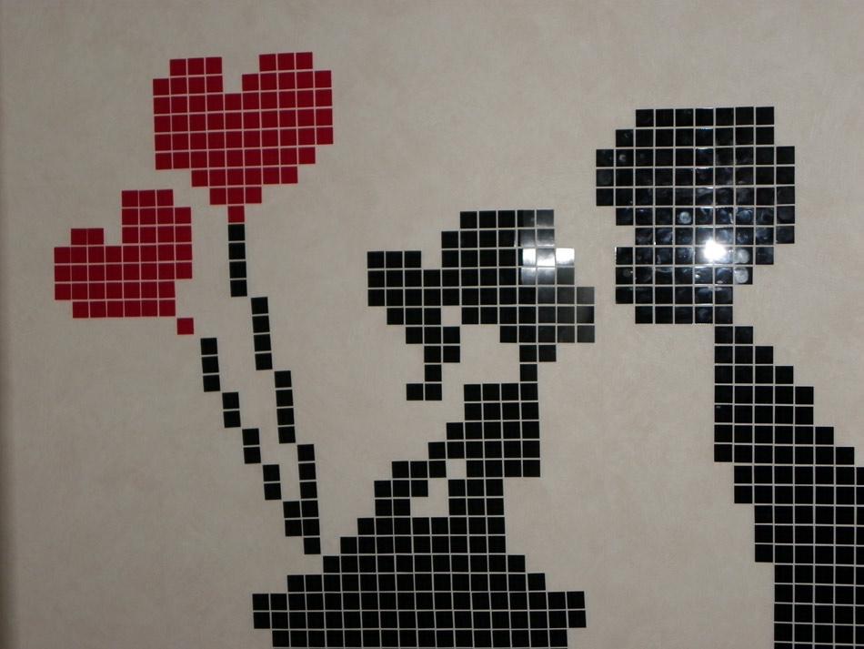 Pixel Art Couple Mignon