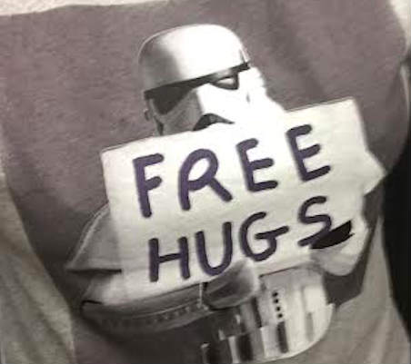 Star wars free hugs
