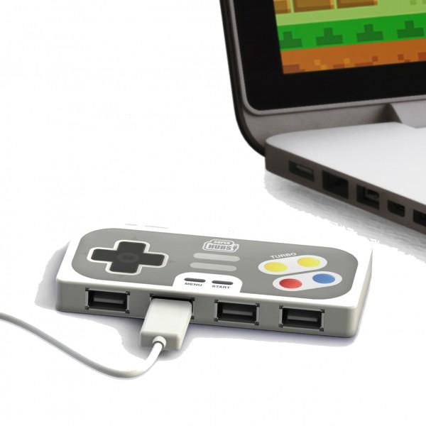 Hub USB manette de SNES