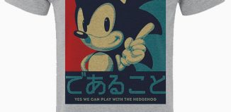 T-Shirt Sonic Yes We Can Play Too
