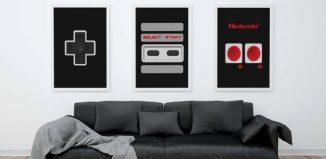 Tableau manette de Nintendo NES