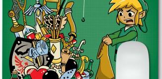 Tapis de Souris Zelda