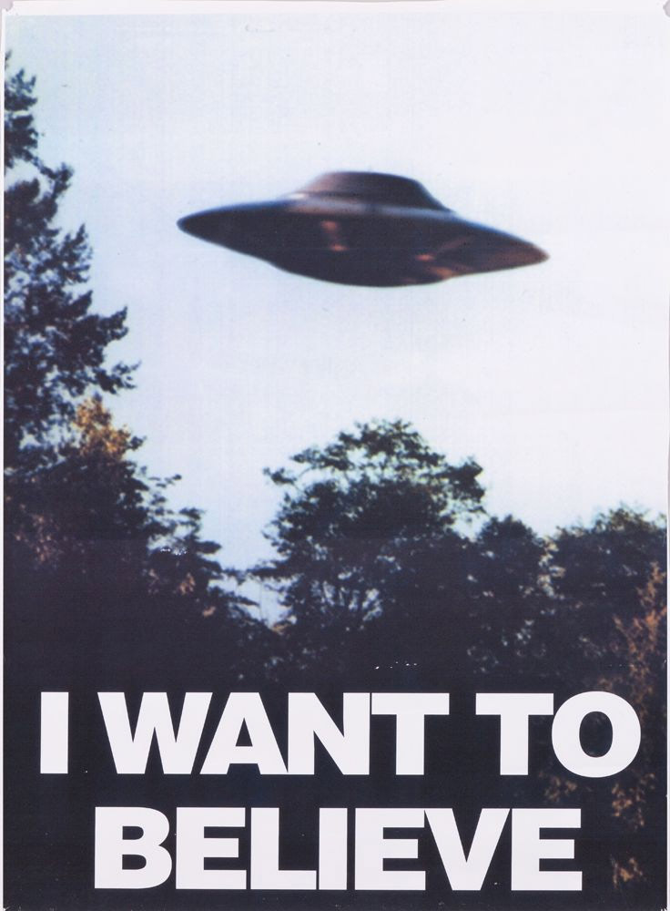 Acheter poster X-Files I Want To Believe