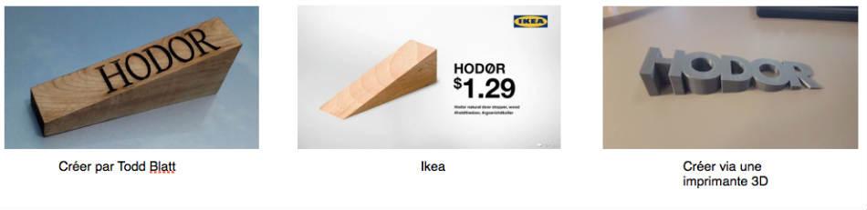 Cale Porte Hodor hodor de porte - geek