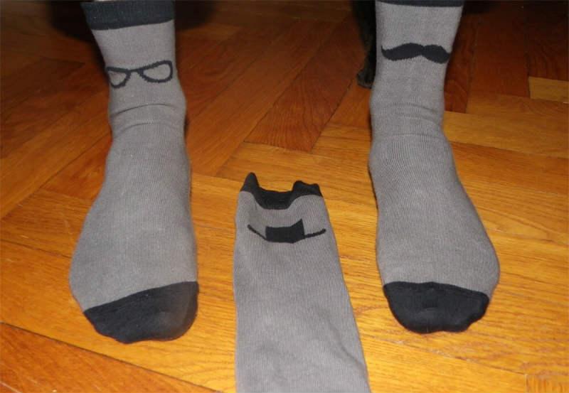 chaussettes grises 2