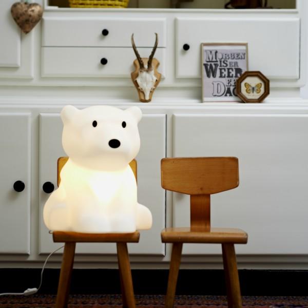 lampe ours polaire nanuk le blog geek pour les geeks par. Black Bedroom Furniture Sets. Home Design Ideas